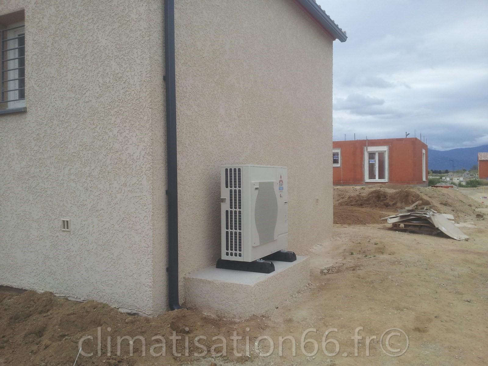 Climatisation maison bbc al nya for Climatisation centrale maison