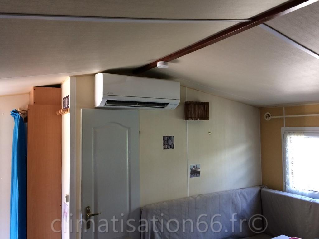 Installation d 39 une climatisation dans un mobil home - Installation d une climatisation ...